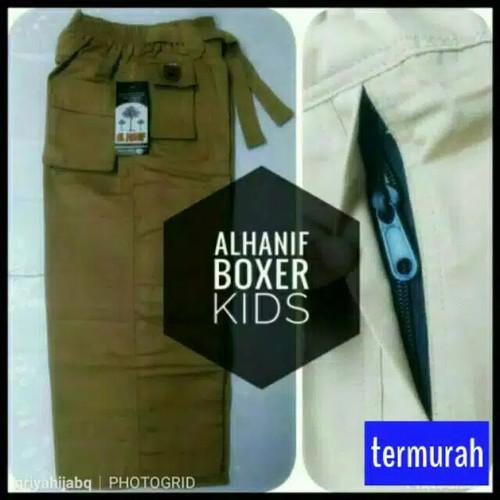 Foto Produk Celana Sirwal Anak Boxer XXL Al Hanif - navy dari griyahijabq
