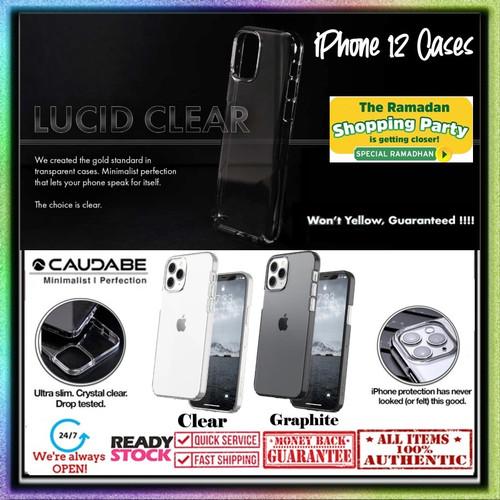 Foto Produk Case iPhone 12 Pro Max 12 Pro Mini Caudabe LUCID Ultra Thin Slim - 12 Pro Max, Clear dari Spigen Indonesia