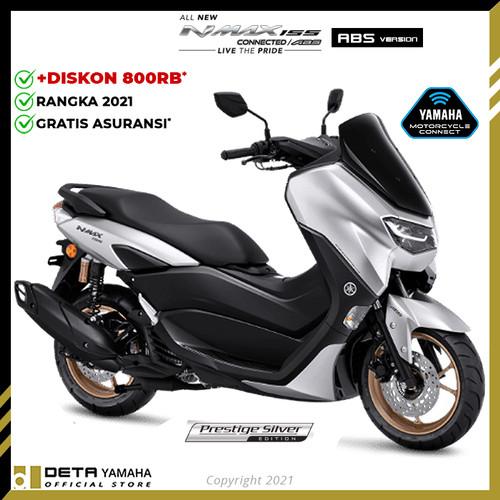 Foto Produk DETA-Yamaha ALL NEW NMAX ABS 2021 (OTR JADETABEK) Sepeda Motor - Silver dari DETA Yamaha Group
