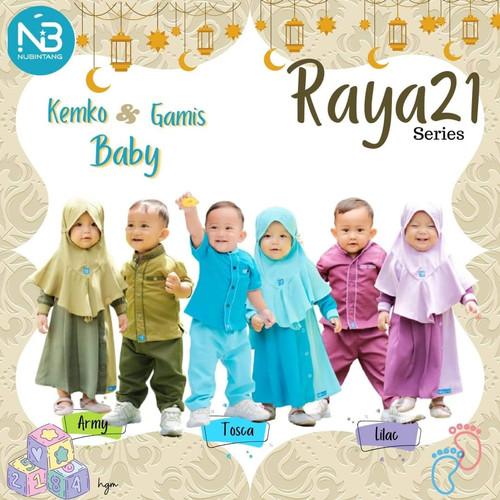 Foto Produk Koko Baby Raya21 Set Celana by Nubintang dari kedai berkah