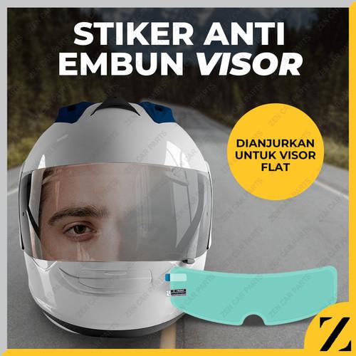 Foto Produk Anti Fog Helm Film Anti Kabut Visor Dalam Helm Air Hujan Clear Bening dari Zen Car Parts