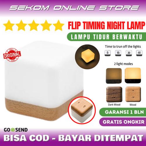 Foto Produk Lampu Tidur Timer Flip Timing Night Lamp Off Automatically dari SEKOM ONLINE STORE