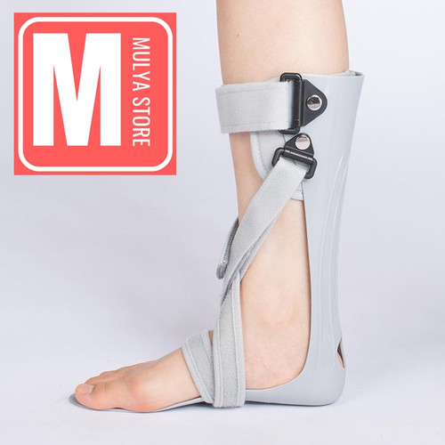 Foto Produk Ankle Foot Orthosis AFO Anke Brace Drop Foot Kaki Lumpuh Karena Stroke - Kanan M dari Mulya Store