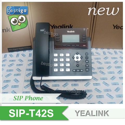 Foto Produk IP Phone Yealink SIP-T42S PoE dari BESTIGO PABX TELEPON