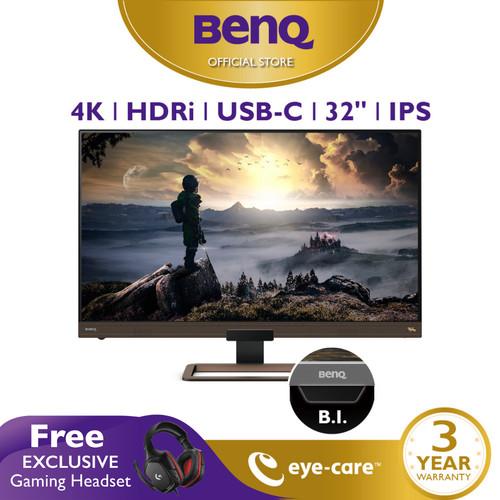 Foto Produk Monitor 4K BenQ EW3280U 32inch UHD IPS HDR Speaker LED Monitor Gaming dari BenQ Official Store