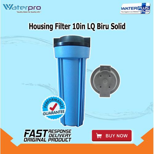 Foto Produk Housing Filter 10in LQ Biru Solid dari WaterplusPure