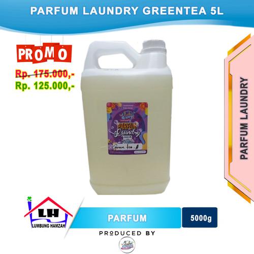 Foto Produk Parfum Laundry Greentea Grade A 5 Liter PRABU WANGI dari Toko Sabun Hamzah
