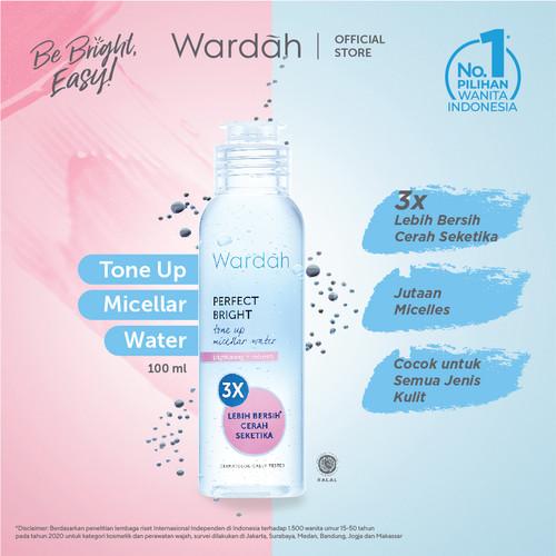 Foto Produk Wardah Perfect Bright Tone Up Micellar Water Brightening + Refresh 100 dari Wardah Official