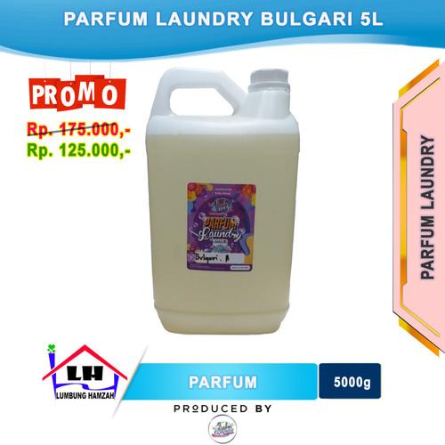 Foto Produk Parfum Laundry Bulgari 5 Liter PRABU WANGI Instant/Sameday dari Toko Sabun Hamzah