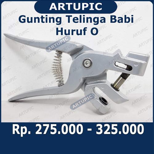 Foto Produk Gunting Telinga Babi Huruf O Tang Kuping Babi Pig Ear Notcher Scissors dari ArtupicPeralatanPeternak