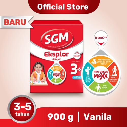 Foto Produk SGM Eksplor 3 Plus Susu Pertumbuhan 3-5 Thn Vanila 900g dari SGM Official Store