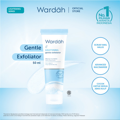 Foto Produk Wardah Lightening Gentle Exfoliator 50 ml dari Wardah Official