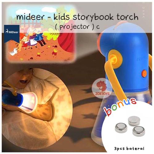 Foto Produk Zoetoys Mideer - Kids Storybook Torch ( Projector ) C | mainan edukasi dari zoetoys