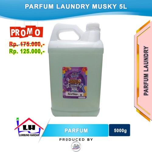 Foto Produk Parfum Laundry Musky 5 Liter PRABU WANGI Instant/Sameday dari Toko Sabun Hamzah