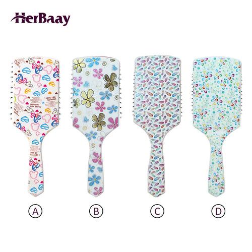 Foto Produk HerBaay Sisir Airbag Printed cushion comb PCCH-4001 - B dari HerBaay official Store