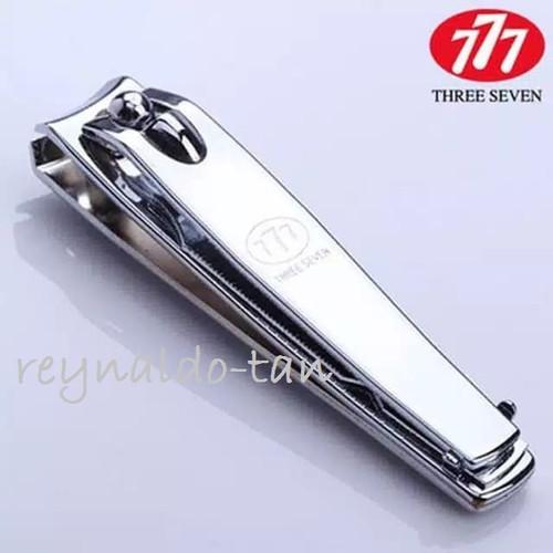 Foto Produk 12 Pcs Gunting Kuku Korea 777 Uk Besar Stainless Silver Chrome Ori dari reynaldo-tan