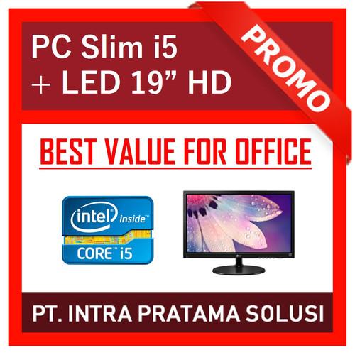 "Foto Produk Mini PC Core i5 + RAM 8GB + HDD 320GB + LED 19"" dari PT. Intra Pratama Solusi"