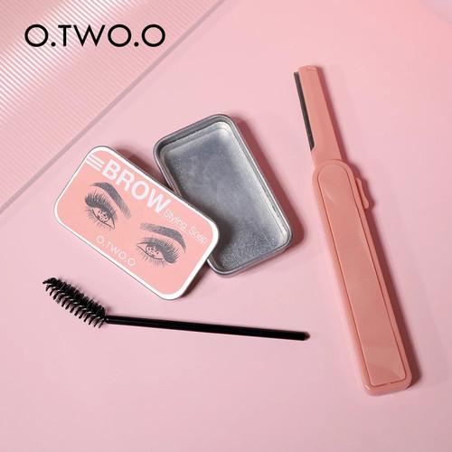 Foto Produk BROW STYLING SOAP/EYEBROW POMADE OTWOO[SOAP+BRUSH+RAZOR] dari Orisini Shop