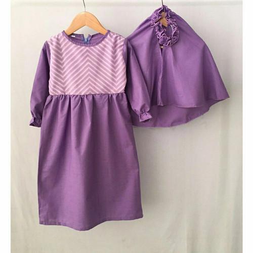 Foto Produk Gamis Kaos Baju Busana Muslim Blanjuran Anak Perempuan Umur 1-6 Tahun - SIZE 1 THN dari niagaid