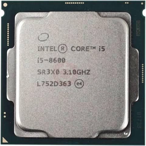 Foto Produk PROCESSOR INTEL CORE I5 8600 TRAY LGA 1151 dari iconcomp