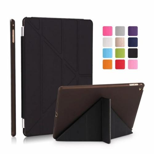 Foto Produk iPad 2 3 4 & iPad Mini 1 2 3 4 & Air 2 Case Smart Cover Transparant - Hitam, iPad Mini 5 dari SmartShop007