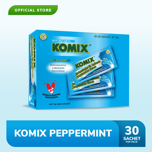 Foto Produk Komix Adult Peppermint Pack (30 Sachet) dari Bintang Toedjoe Official