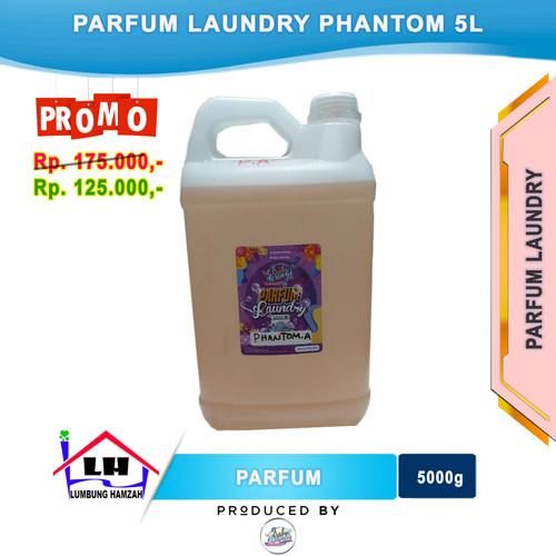 Foto Produk Parfum Laundry Phantom 5 Liter PRABU WANGI dari Toko Sabun Hamzah