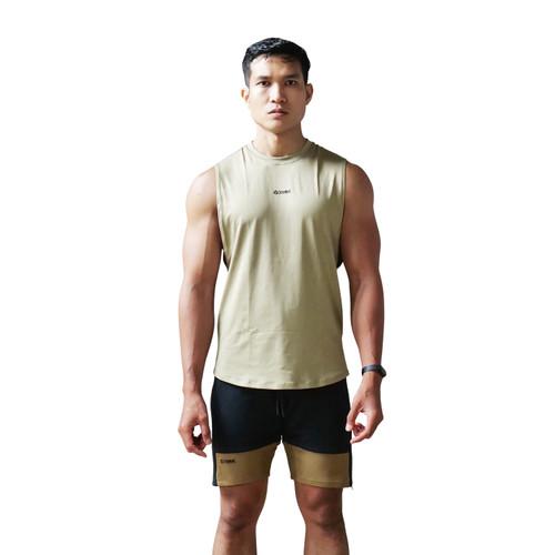 Foto Produk CoreNation Elite Legend Muscle Tank - OLIVE, XL dari CoreNation Active