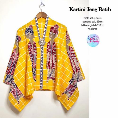 Foto Produk blouse kartini jeng ratih premium dari Jivan Batik