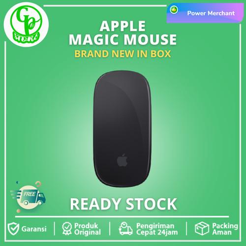 Foto Produk Apple Magic Mouse 2 Black Original Garansi Resmi iBox - Putih, GARANSI INTER dari GRENPEEL STORE