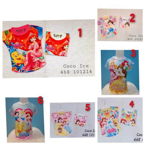 Foto Produk Kaos Anak Perempuan DISNEY PRINCESS merk COCOICE dari Hanake Collection