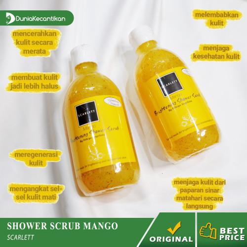 Foto Produk Scarlett Brightening Shower Scrub Sabun Mandi Scarlett Whitening - MANGO dari DuniaKecantikan