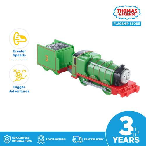 Foto Produk Thomas and Friends TrackMaster Motorized Engine (Henry) -Mainan Kereta dari Thomas & Friends