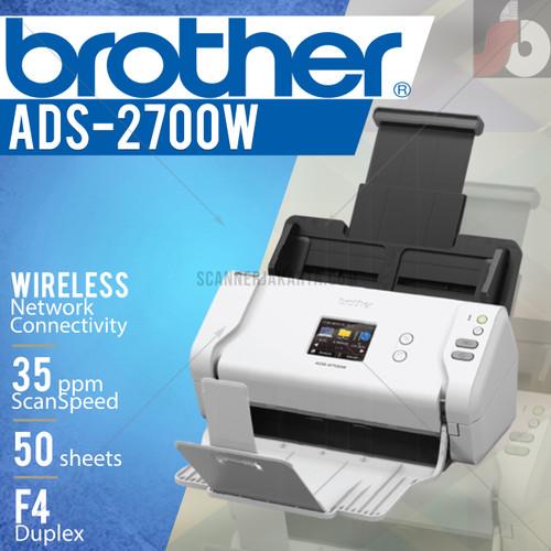 Foto Produk Scanner Brother ADS 2700W - wireless - wifi dari scanner bandung