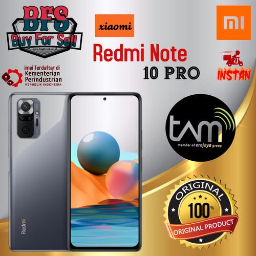 Foto Produk XIOMI REDMI NOTE 10 PRO 6/64 GB - 8/128 GB GARANSI RESMI - bronze limited, 6GB 64GB dari BuyForSell