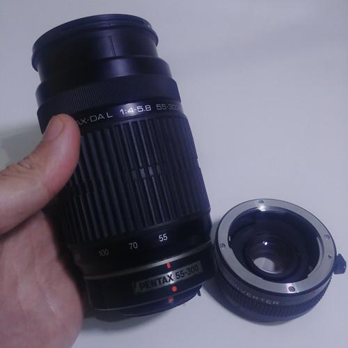 Foto Produk 55-300mm DAL For Pentax + bonus dari Cover BAg