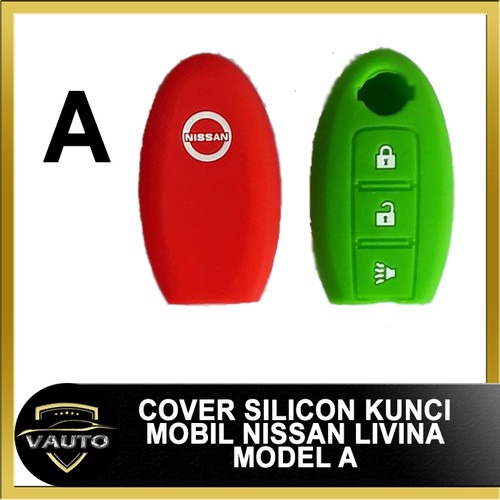Foto Produk Silicon Kunci mobil - Caver Kunci - Sarung Kondom Remot Nissan Juke - Merah dari vauto