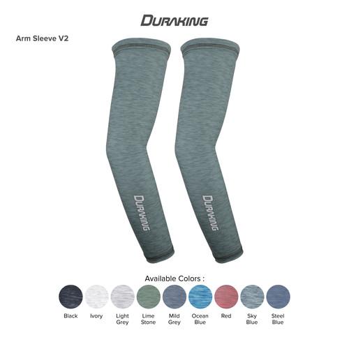 Foto Produk DK Arm Sleeve V2 Anti Virus Sports Heather All Size Lime Stone dari Duraking Outdoor&Sports