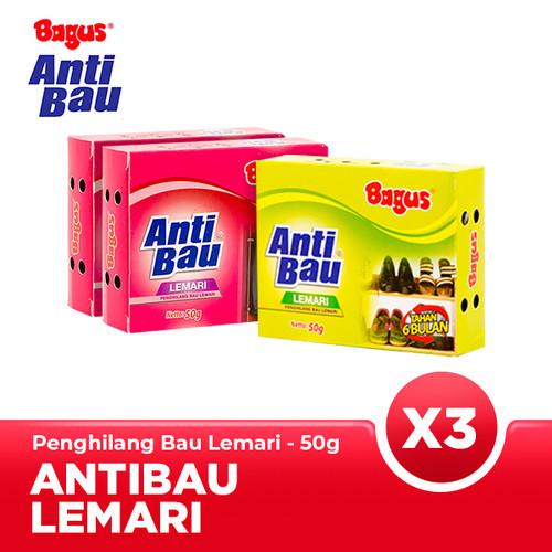Foto Produk [Triple Bundle] Bagus Anti Bau Lemari 50 gr dari Bagus Official Store