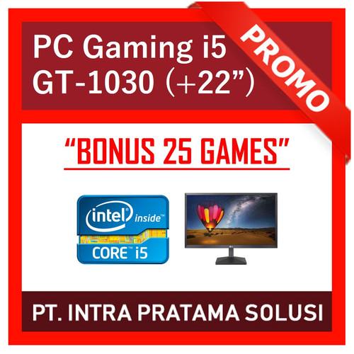 """Foto Produk PC Gaming / Design i5-3470 + 8GB RAM + SSD + Nvidia GT1030 + LED 22"""" dari PT. Intra Pratama Solusi"""