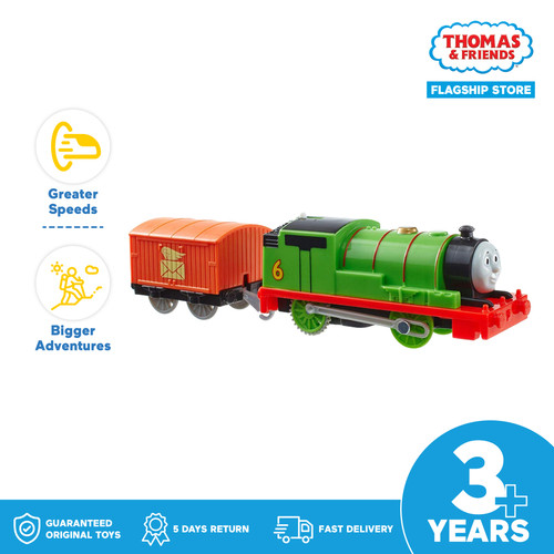 Foto Produk Thomas & Friends TrackMaster Motorized Engine (Percy) - Mainan Kereta dari Thomas & Friends