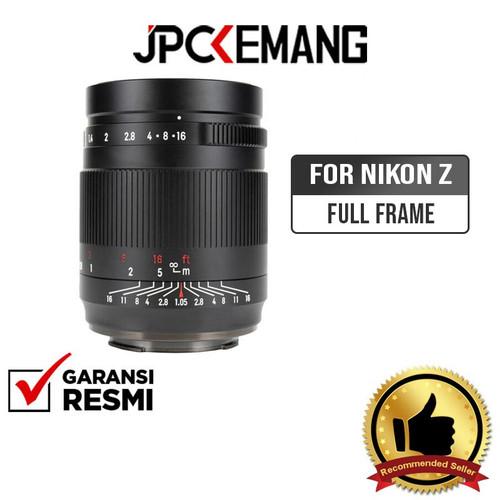 Foto Produk 7artisans 50mm f1.05 Nikon Z FullFrame 7artisan 50mm f/1.05 GARANSIRSM dari JPCKemang