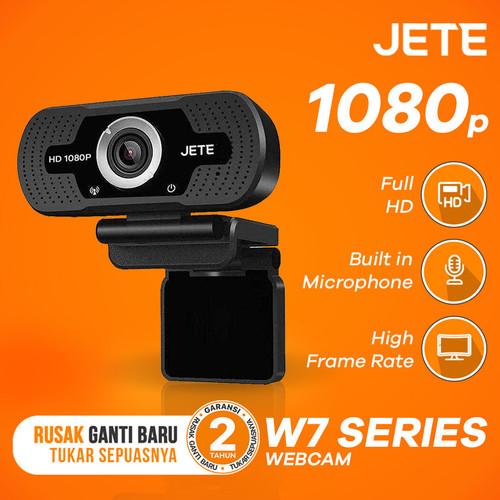 Foto Produk Exclusive Tokopedia - Webcam Jete W7 Full HD 1080px Widescreen View - Unit Only dari JETE Official Surabaya