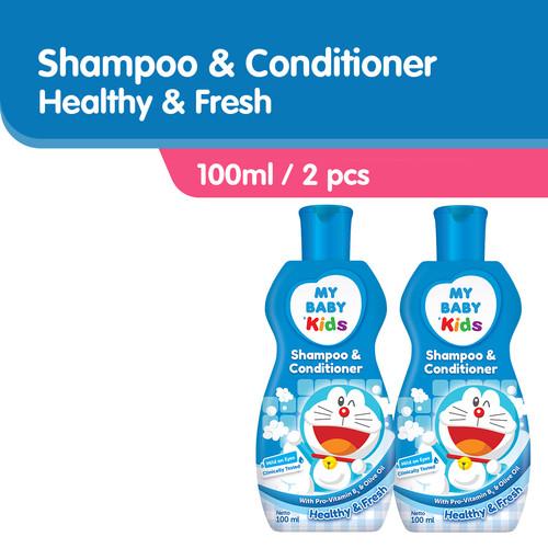 Foto Produk MY BABY Kids Shampoo & Conditioner [100 mL/ 2 pcs] Health & Fresh dari Tempo Store Official