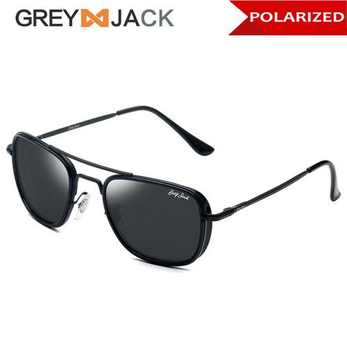 Foto Produk Grey Jack/ Kacamata Hitam Pria dan Wanita / Sunglasses /1259 - SA1631-black dari Grey Jack