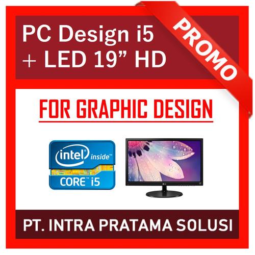 Foto Produk PC Rakitan i5 Lengkap + Monitor (For Office and Design Needs) dari PT. Intra Pratama Solusi