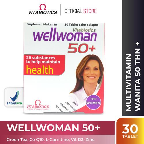Foto Produk Vitabiotics Wellwoman 50 Suplemen Kesehatan Wanita Lansia dari Vitabiotics Indonesia