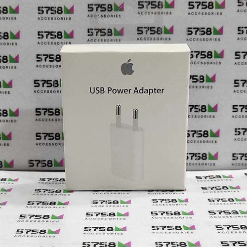 Foto Produk adaptor kepala charger iphone 5/6/7/8/9 ipod ipad mini 5 ORIGINAL dari 5758 ACCESSORIES
