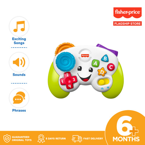 Foto Produk Fisher Price Laugh and Learn Game and Learn Controller - Mainan Edukas dari Fisher Price Flagship