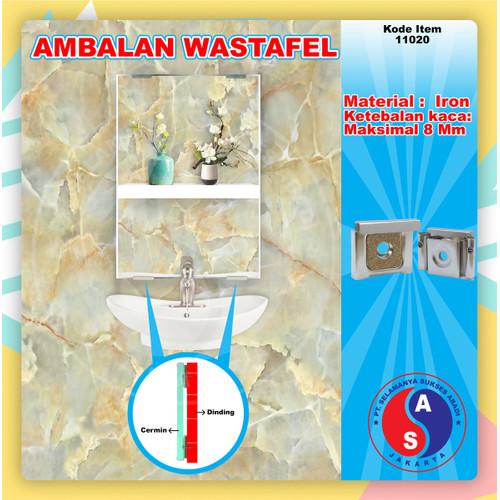 Foto Produk Ambalan Kaca Wastafel SC6680 Tahanan Kaca Wastafel / 11020 dari WINSTON SUKSES ABADI